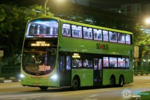 Shuttle 10 - Tower Transit Volvo B9TL (SG5022S)
