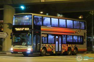 Service 883A - SMRT Buses MAN A95 (SG5753R)