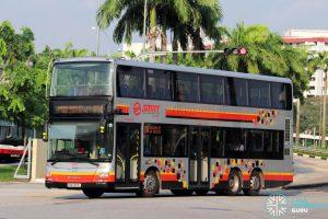 Service 856 - SMRT Buses MAN A95 (SMB5895L)