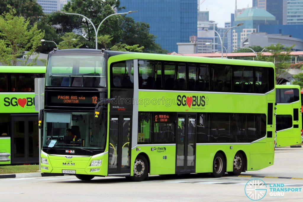 Service 12 - MAN A95 (SG5905U), equipped with DriveSafe