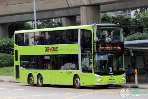 Service 2A - MAN A95 (SG5907P), equipped with I-SAW-U