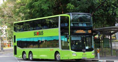 Service 920 - SMRT MAN A95 (SG5927G)