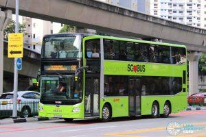 Service 922 - SMRT MAN A95 (SG5929B)