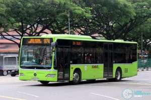 Service 974: Tower Transit Mercedes-Benz Citaro (SBS6371R)