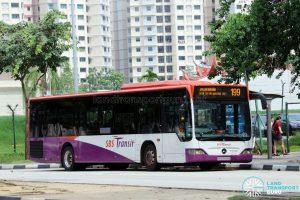 Service 199: SBS Transit Mercedes-Benz Citaro (SBS6695G)