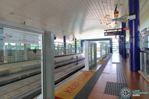 Platform Barrier at Bangkit LRT Station