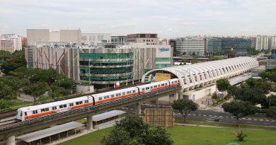 Tampines MRT Station - C151B Train