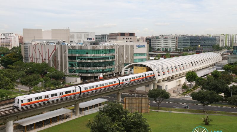 Tampines MRT Station - C151B Train