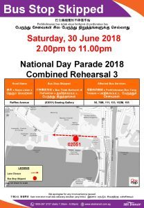 SBS Transit Singapore Poster for NDP 2018 - CR3