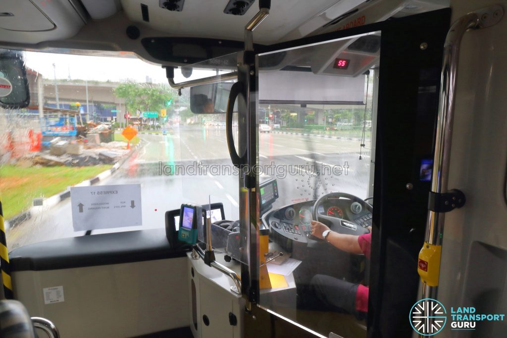 Protective Screens For Drivers Trialled On Public Buses