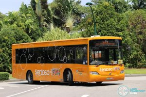 Sentosa Development Corp Volvo B7RLE (RU4290D) - Sentosa Bus B