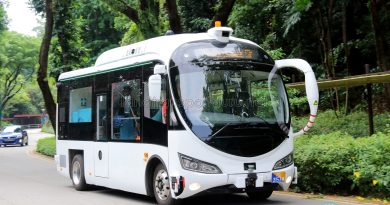 ST Kinetics Autobus (RD3153M) on Trial at Sentosa