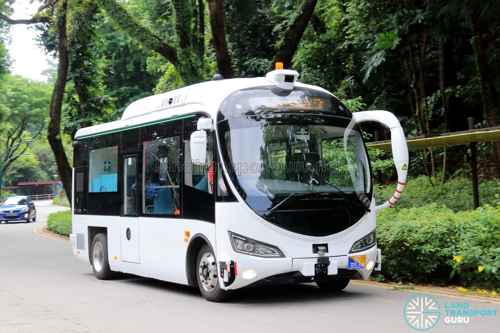 St Autonomous Mini Bus Autobus Land Transport Guru