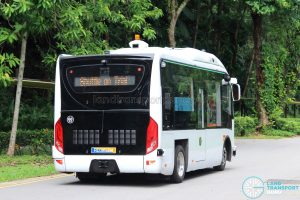 ST Kinetics Autobus (RD3153M) on Trial at Sentosa [Rear]