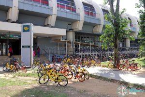 Shared bike indiscriminate parking