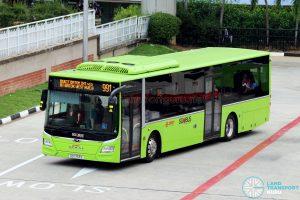 Service 991 - SMRT MAN A22 (SG1753S)