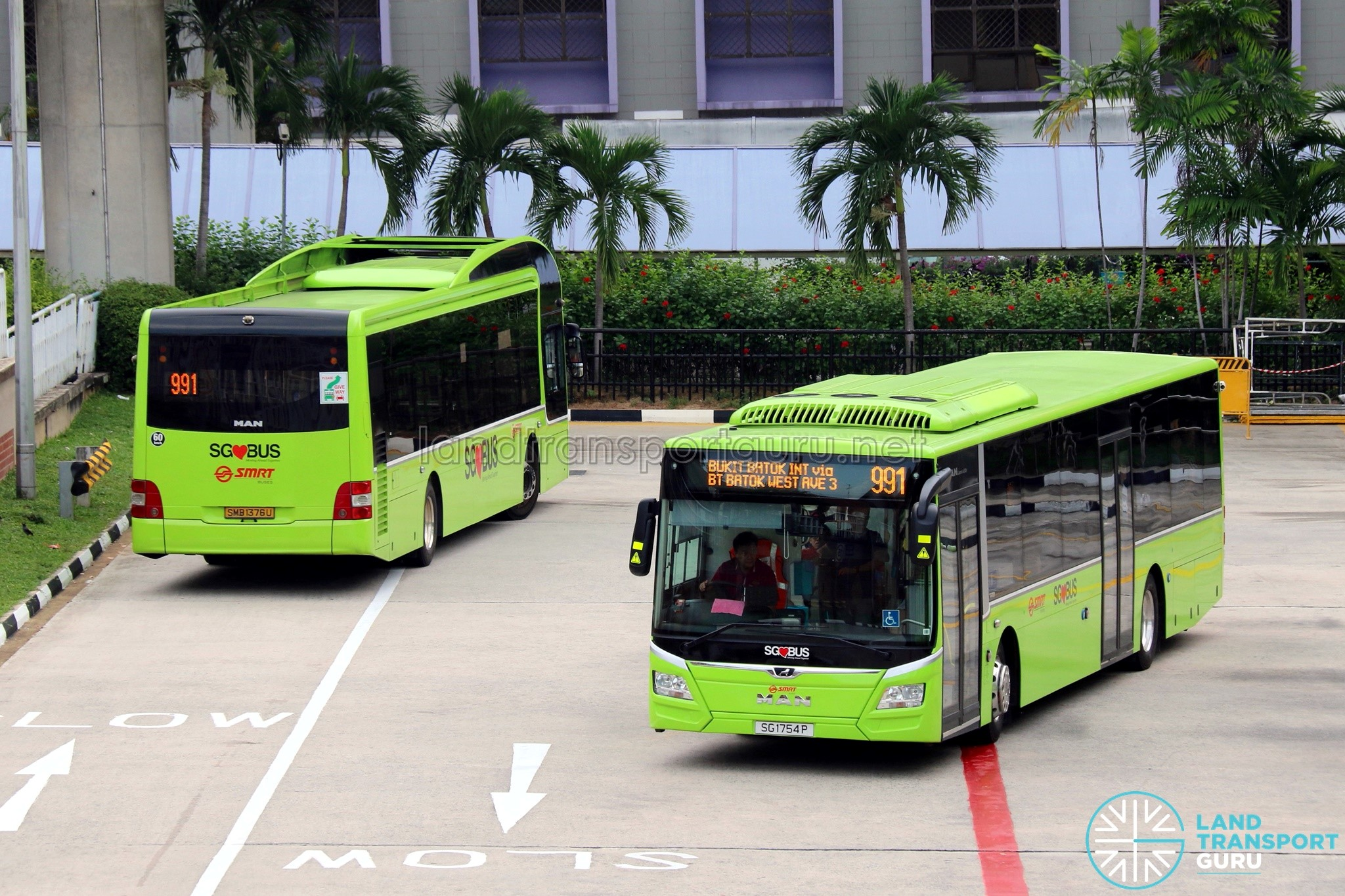 SMRT Bus Service 991 | Land Transport Guru