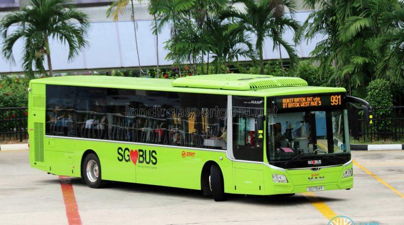 Service 991 - SMRT MAN A22 (SG1754P)