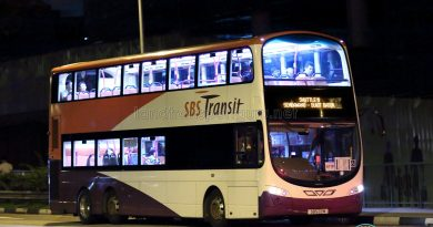 Shuttle 11 - SBS Transit Volvo B9TL (SBS22M)