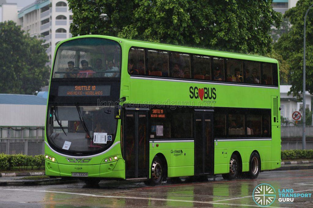 Shuttle 10 - Go-Ahead Volvo B9TL (SBS3300R)
