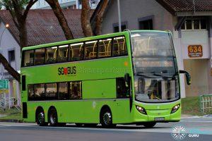 Service 990 - Tower Transit ADL Enviro500 (SMB3534S)
