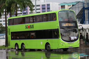 Shuttle 10 - Tower Transit Volvo B9TL (SG5000E)