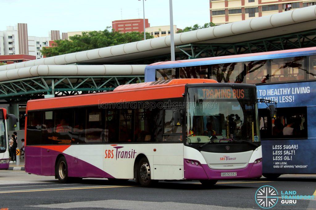 Training Bus - SBS Transit Scania K230UB Euro V (SBS5033Z)