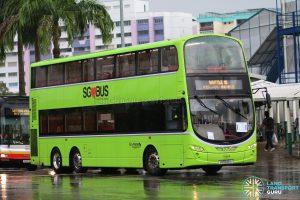 Shuttle 10 - Go-Ahead Volvo B9TL (SG5545A)