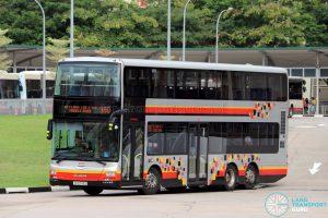 Service 980 - SMRT Buses MAN A95 (SG5743U)