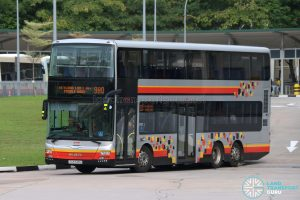 Bus 980 - SMRT MAN A95 (SG5743U)