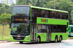 Service 980 - SMRT Buses MAN A95 (SG5763L)