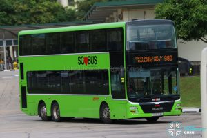 Bus 980 - SMRT MAN A95 (SG5763L)