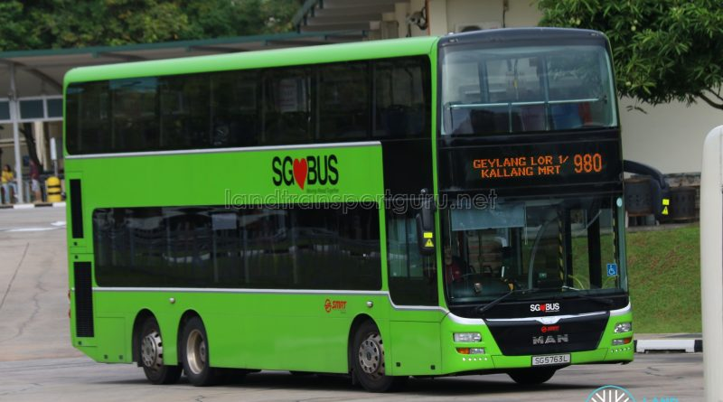 Bus 980 - SMRT MAN A95 (SG5763L)