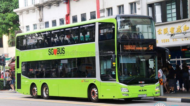 Service 54 - SBS Transit MAN A95 (SG5837H)