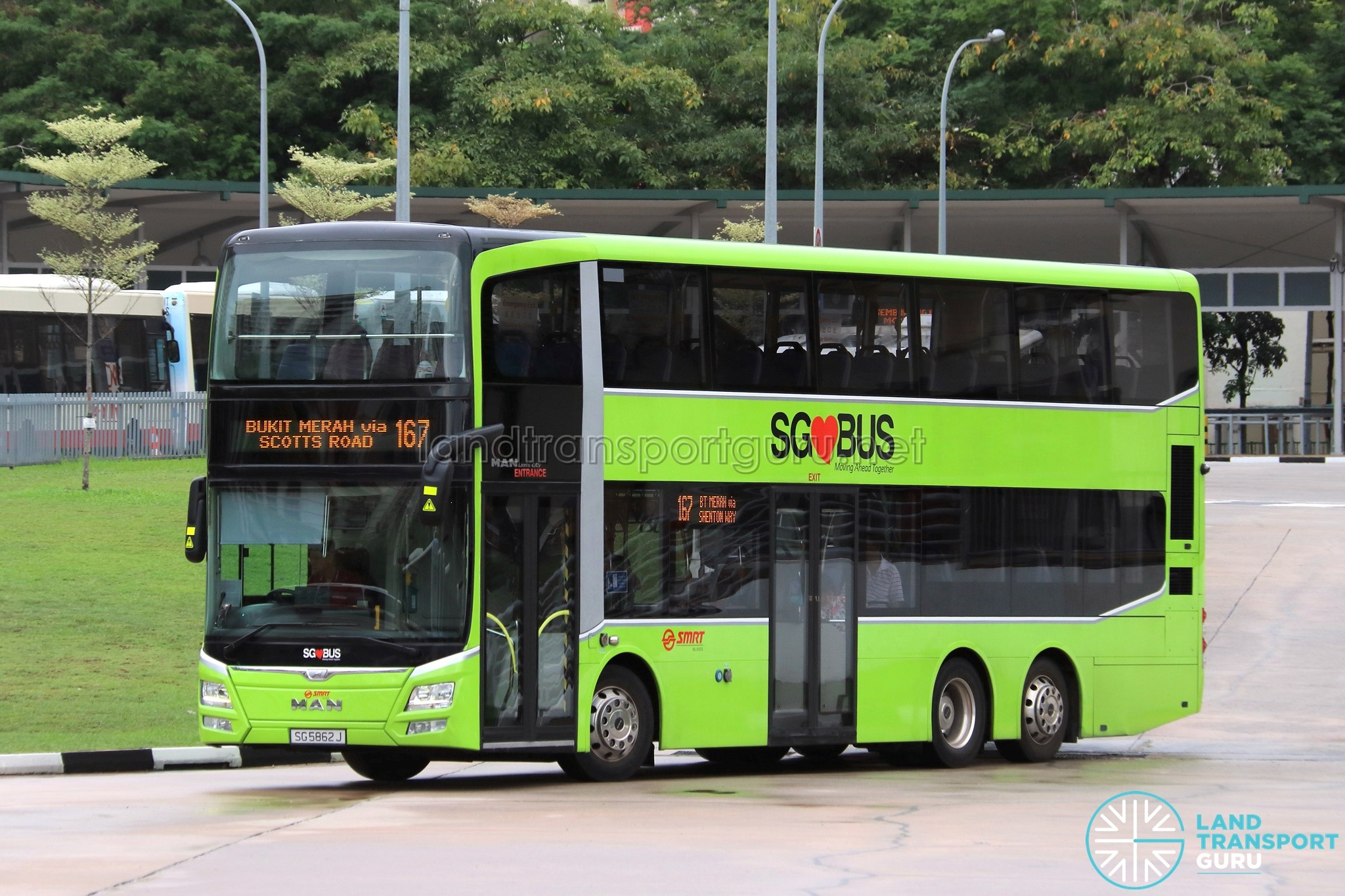 SMRT Bus Service 167 | Land Transport Guru