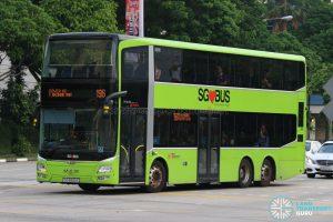 Service 196 - SBS Transit MAN A95 (SG5890C)