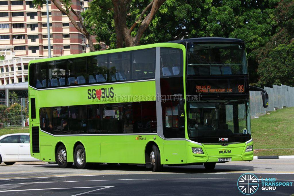 Bus 89 - SBS Transit MAN Lion's City DD (SG5936E)