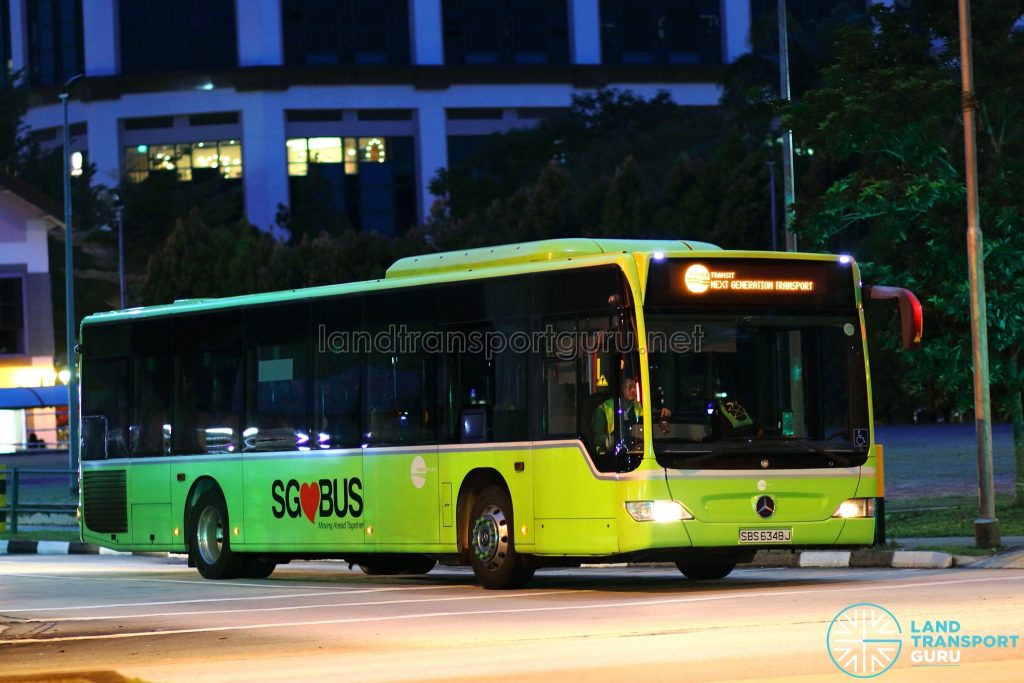 Tower Transit - Next Generation Transport (SBS6348J)