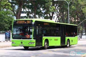 Service 36T - Go-Ahead Mercedes-Benz Citaro (SBS6540U)