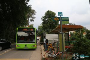 Bus 84 - aft Track 22, Punggol Road