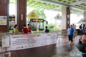 Service 991 Berth at Bukit Batok Bus Interchange