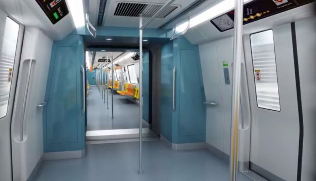 Bombardier MOVIA CR151 Interior