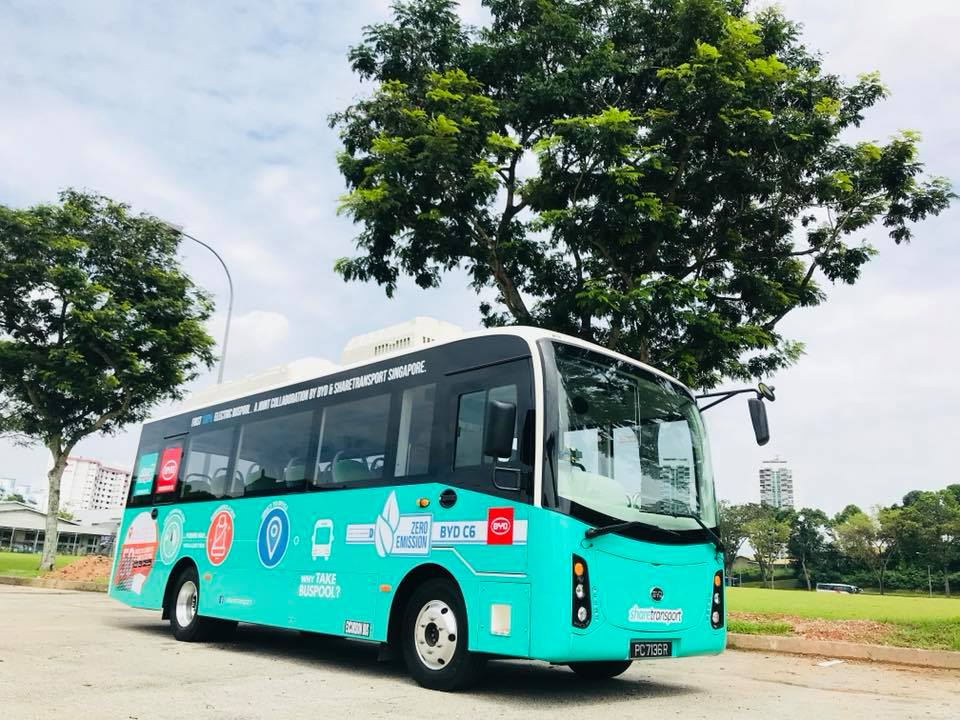 BYD C6 Electric Bus