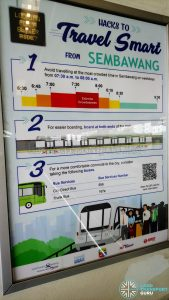 Hacks to Travel Smart Poster - Sembawang