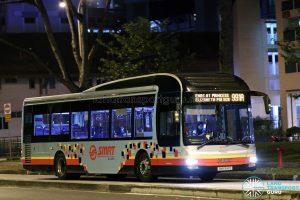 Service 991A - SMRT Buses MAN A22 (SMB1641D)