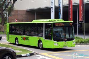 Service 151 - SBS Transit MAN A22 Euro 6 (SG1766E)