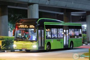 Service 189A - Tower Transit MAN A22 (SMB3069T)