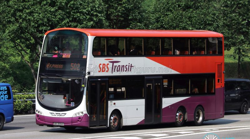 Express 502 - SBS Transit Volvo B9TL Wright (SBS3094K)