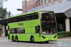 Service 106 (SG53 EDS) - Tower Transit Alexander Dennis Enviro500 (SMB3534S)