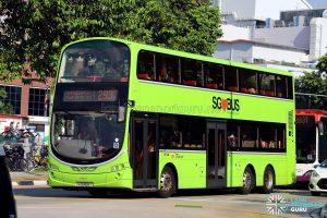 Service 293T - SBS Transit Volvo B9TL Wright (SG5458T)